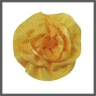 Gold Mini Ribbon Blossom