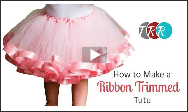 e803e564422e How To Make A Ribbon Trimmed Tutu, YouTube Thursday - The Ribbon Retreat  Blog