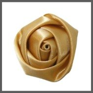 Satin Rolled Rose