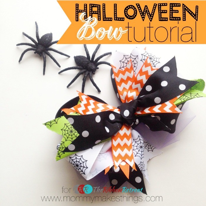 Stacked Halloween Bow