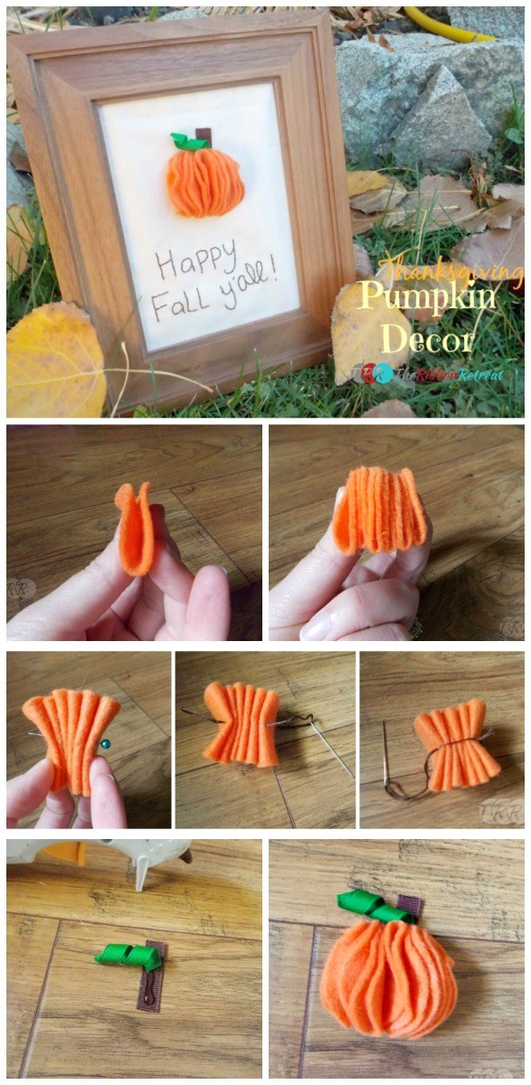 Thanksgiving Pumpkin Decor - The Ribbon Retreat Blog