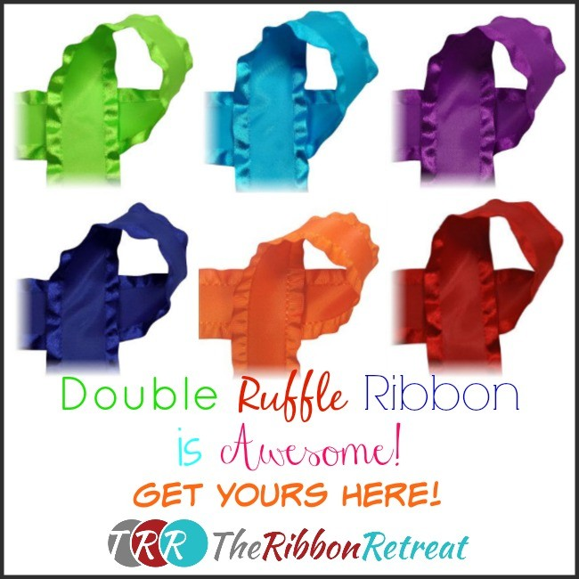 Double Ruffle Ribbon