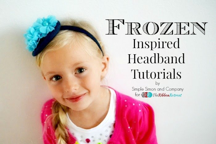 """Frozen"" Inspired Headbands"