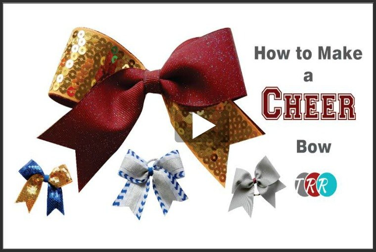 How To Make A Cheer Bow, YouTube Thursday