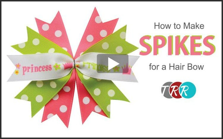 How To Make Spikes For A Hair Bow, YouTube Thursday