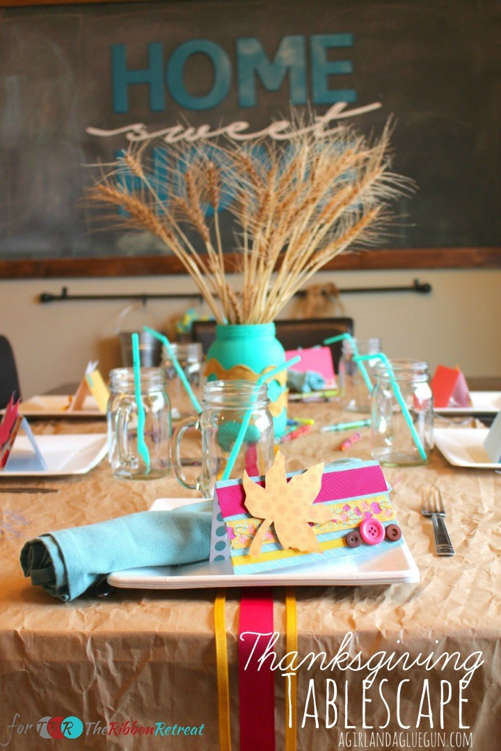 Thanksgiving Tablescape - The Ribbon Retreat Blog
