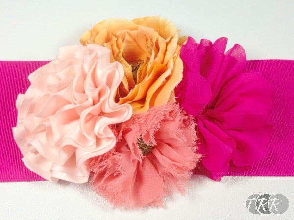 Flower Cluster Curtain Tieback - The Ribbon Retreat Blog