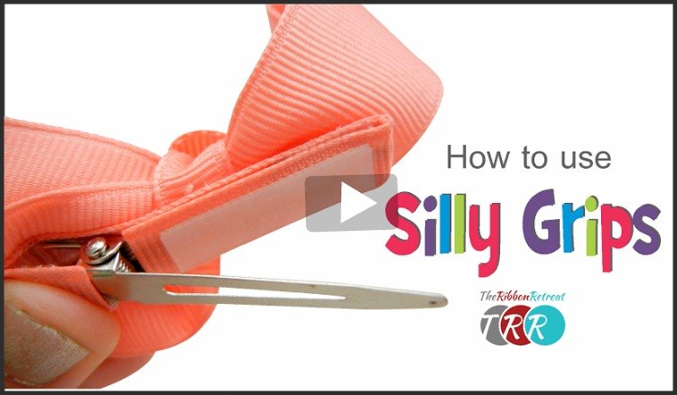 How To Use Silly Grips, YouTube Thursday - The Ribbon Retreat Blog