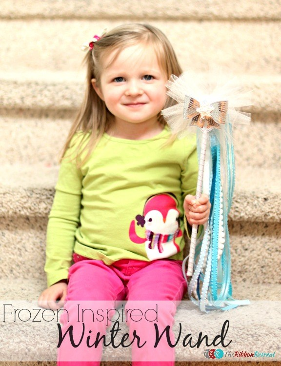 Frozen Inspired Winter Wand - The Ribbon Retreat Blog