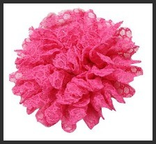 Hot Pink Tansy Lace