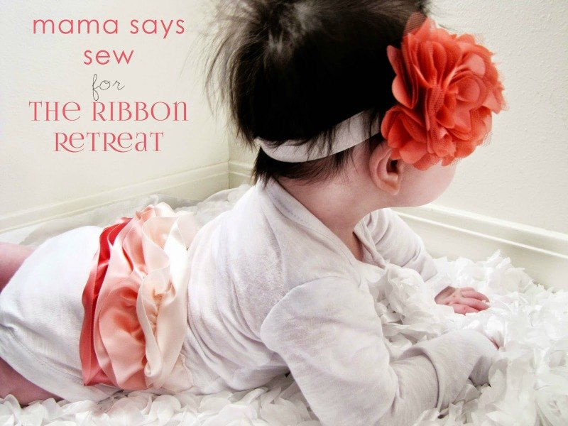 DIY Ruffle Bum Onesie - The Ribbon Retreat Blog