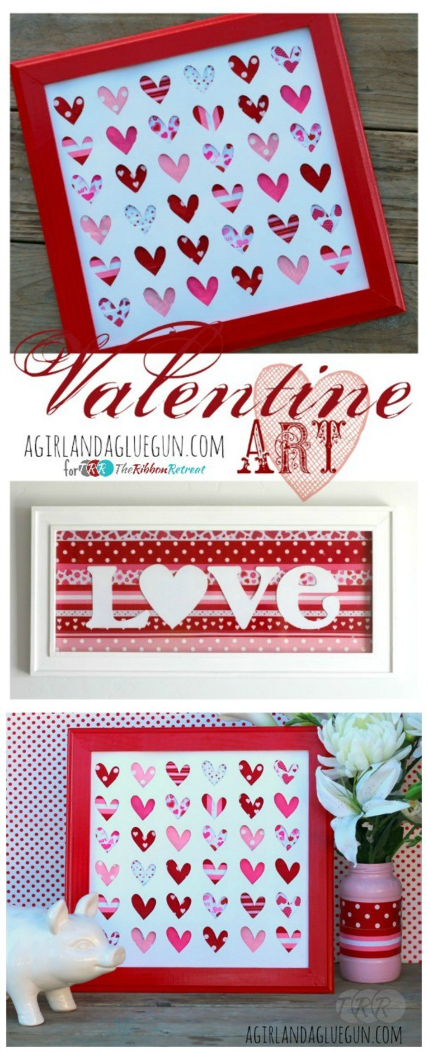 Valentine Art, Blogger Competition no. 2 - The Ribbon Retreat Blog