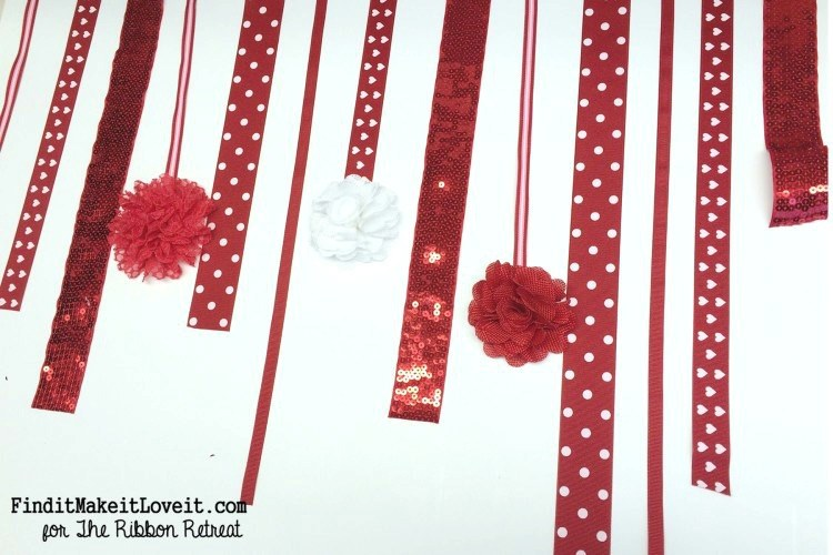 Valentine's Day Photo Backdrop - The Ribbon Retreat Blog