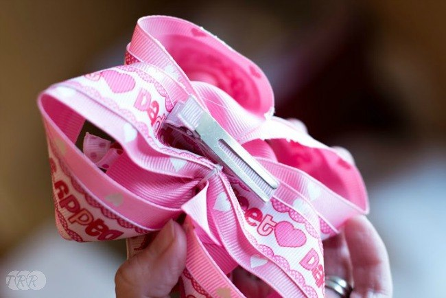 Valentine's Day Stacked Korker Hair Bows - The Ribbon Retreat Blog
