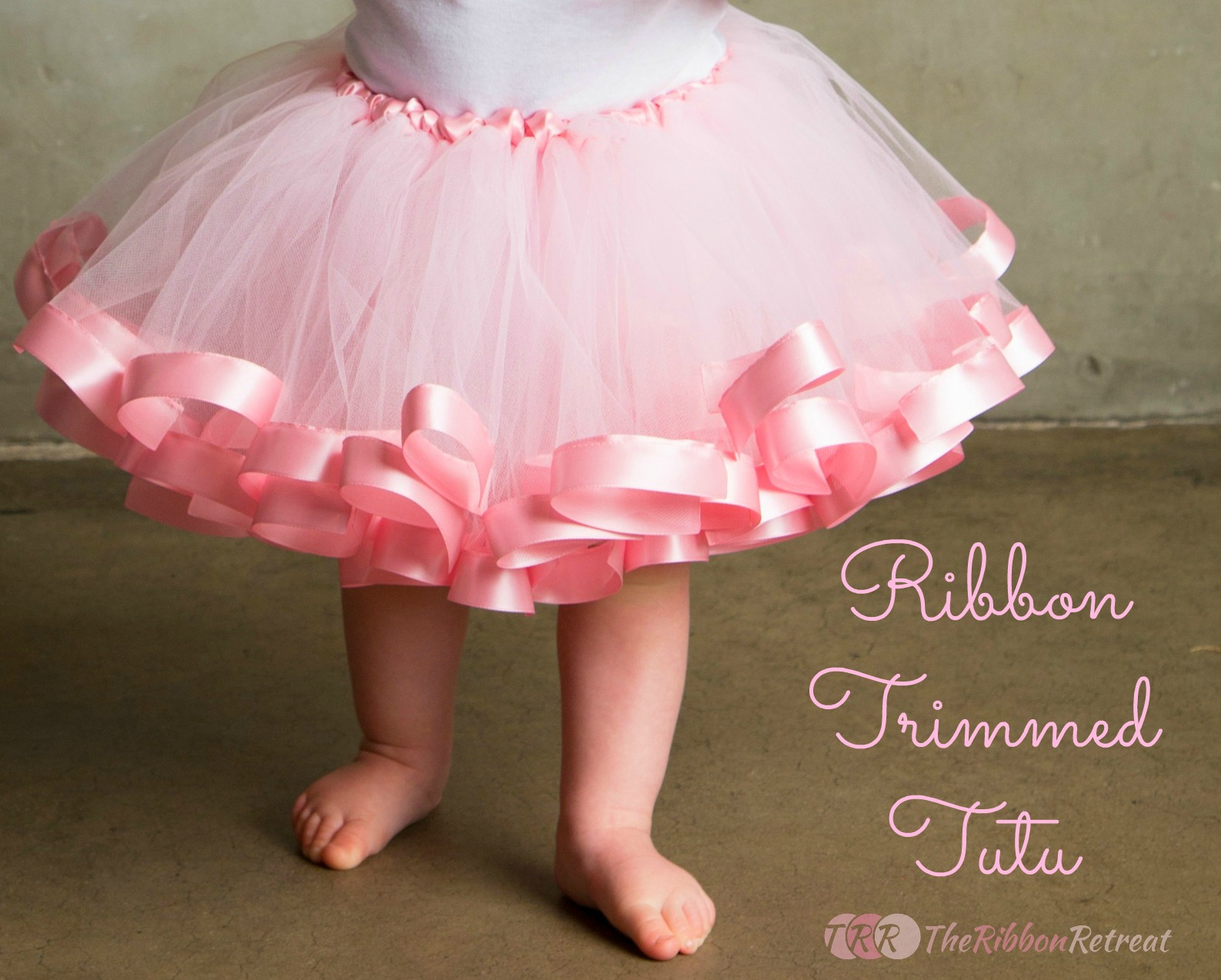 Ribbon Trimmed Tutu Tutorial