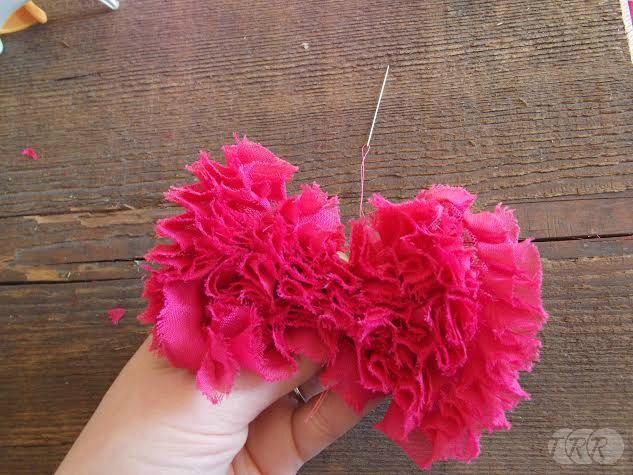 Frayed Chiffon Hair Bow - The Ribbon Retreat Blog