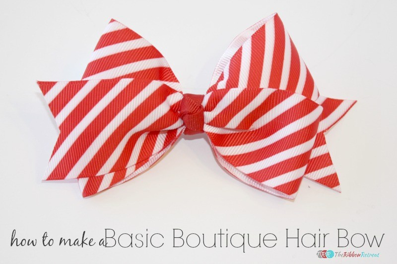How To Make A Basic Boutique Hair Bow