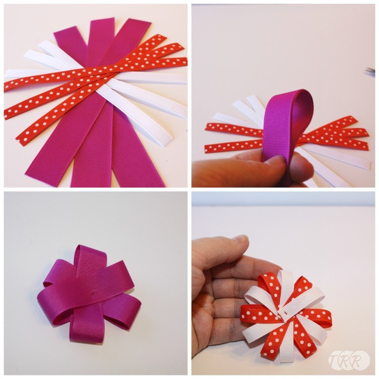 How to Make Hair Bows with a Ribbon Mix - The Ribbon ...