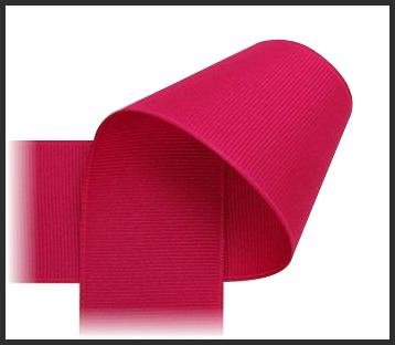 Shocking Pink Grosgrain