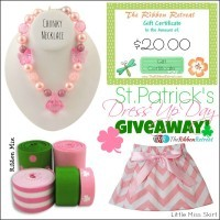 St. Patrick's Dress Up Day Giveaway!