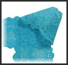 Turquoise Stretchy Lace