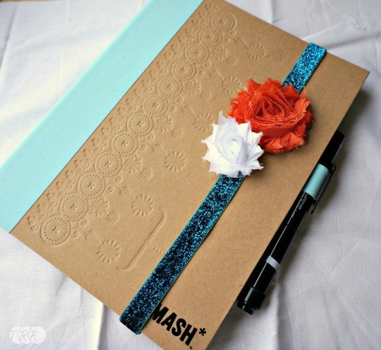 Easy Notebook Band - The Ribbon Retreat Blog