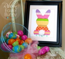 Ribbon Easter Bunny