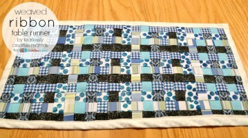 Weaved Ribbon Table Runner