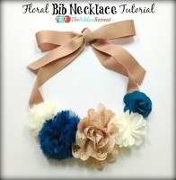Floral Bib Necklace Tutorial