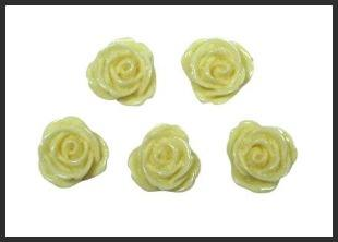 Mini Rose Resins Cream