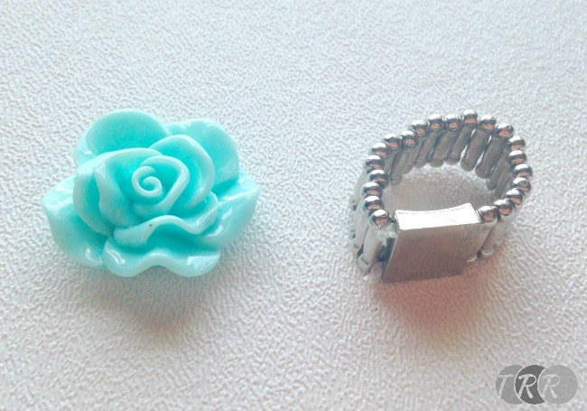 Rose Resin Ring and Bracelet - The Ribbon Retreat Blog