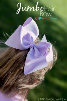 Jumbo Hair Bow Tutorial