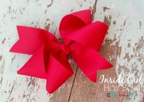 How To Make An Inside Out Hair Bow