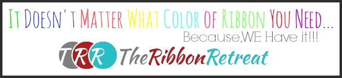 Multi Colored Ribbon Button