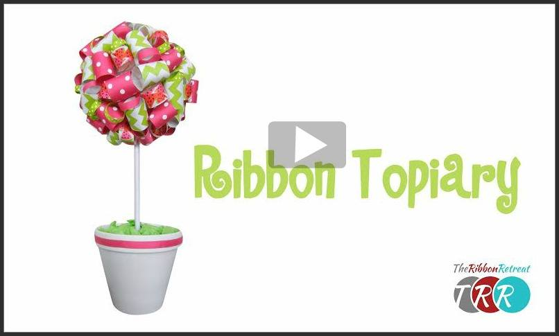 Ribbon Topiary, YouTube Thursday
