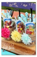 Spring Gift Jars, 2nd Blogger Competition #2