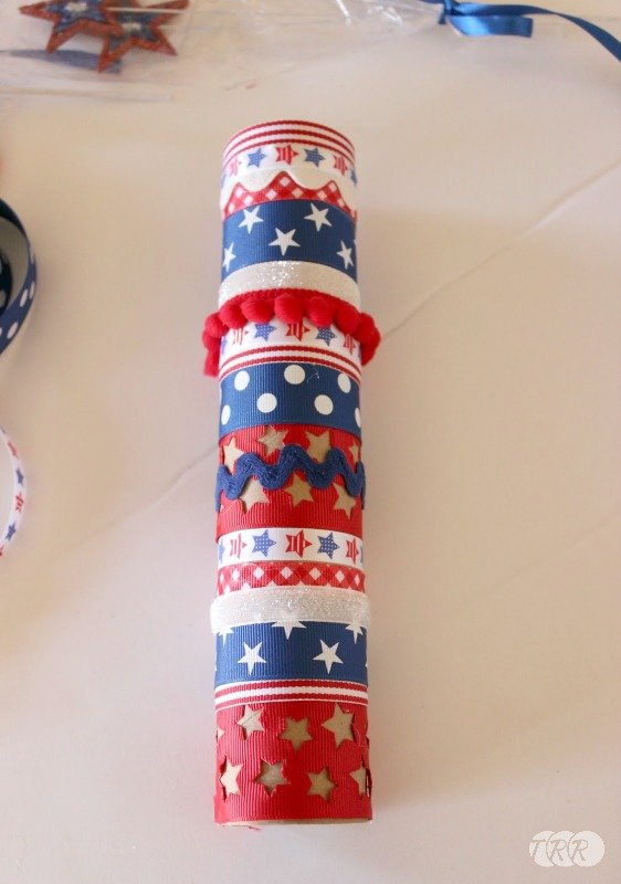 Firecracker Table Display - The Ribbon Retreat Blog