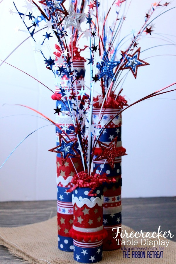 Firecracker Table Display