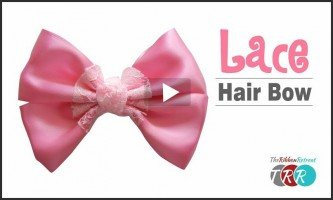 Lace Hair Bow, YouTube Thursday