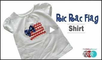 Ric Rac Flag Shirt, YouTube Thursday