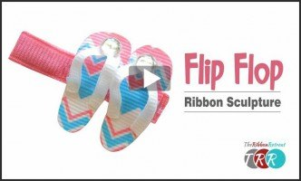Flip Flop Ribbon Sculpture, YouTube Thursday