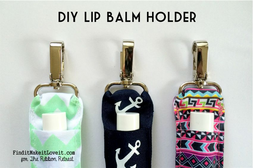 DIY Lip Balm Holder