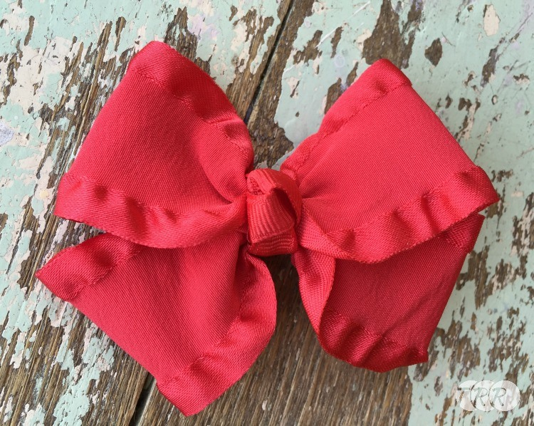 How To Make A Double Ruffle Hair Bow - The Ribbon Retreat Blog