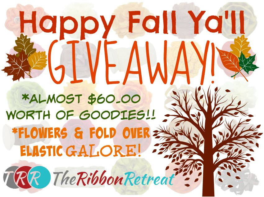 It's Fall Ya'll Giveaway