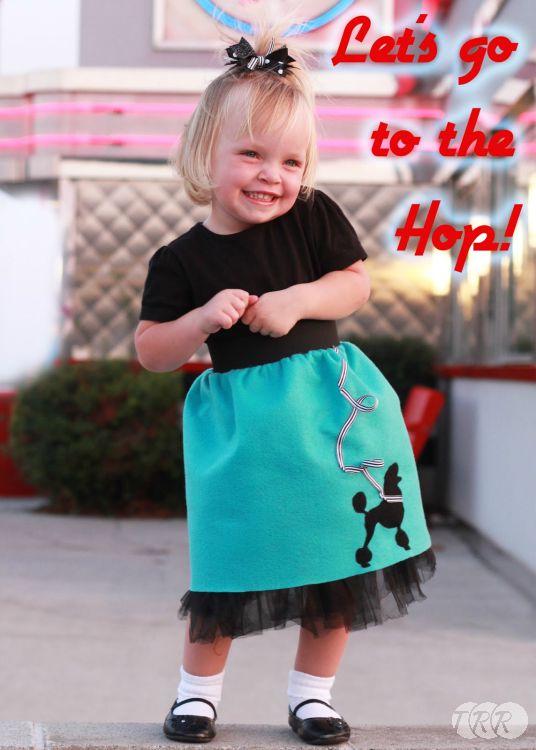 Sock Hop Poodle Skirt