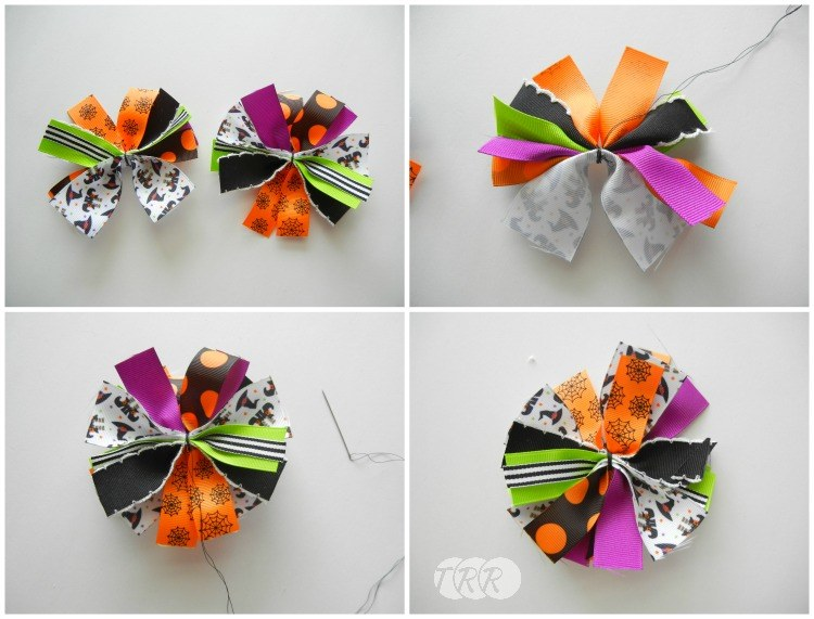 Witch Bow and Ribbon Sculpture Tutorial - The Ribbon Retreat Blog