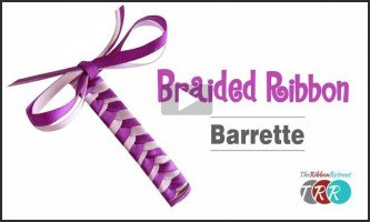 Braided Ribbon Barrette, YouTube Video