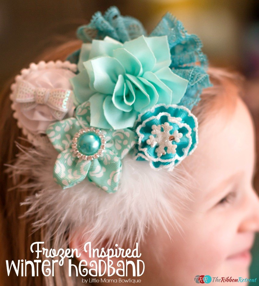 Frozen Inspired Winter Headband