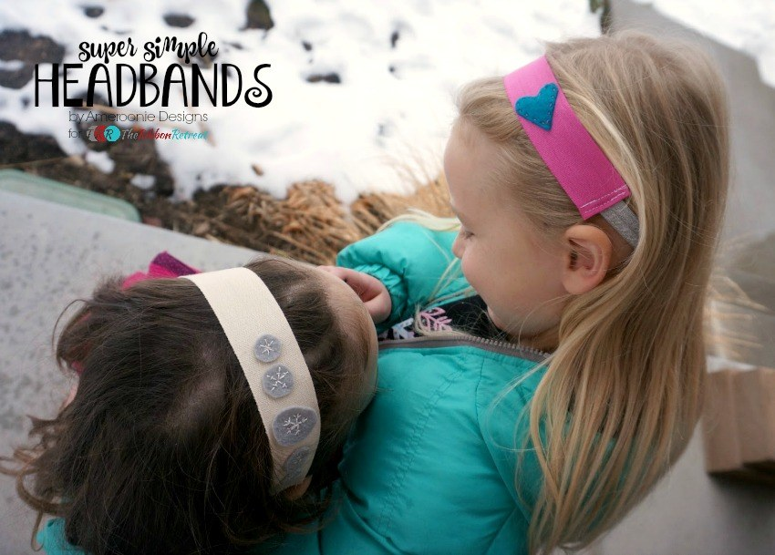 Super Simple Headbands - The Ribbon Retreat Blog