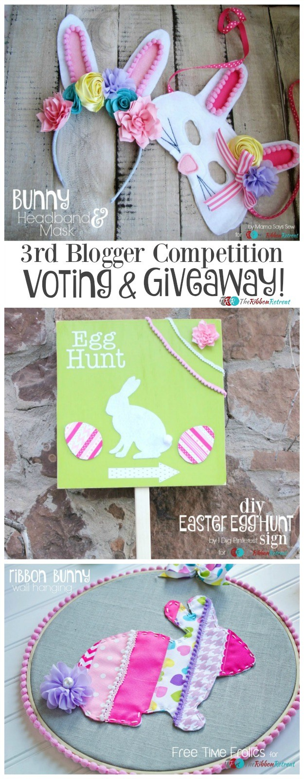 3rd Blogger Competition VOTING and GIVEAWAY! - The Ribbon Retreat Blog